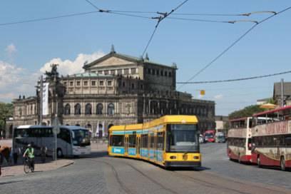 Kultur auf Rädern: die Linie 4 in Dresden