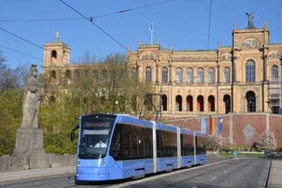 Die Münchner Tram 19