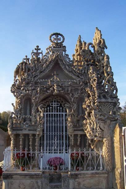 Für den Bau seines eigenen Mausoleums benötigte Cheval 12 Jahre