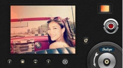 Und auch die Benutzeroberfläche der 8mm Vintage Camera erinnert an längst vergangen Zeiten
