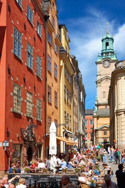 Der Stortorget ist ein historischer Platz in Stockholms Altstadt