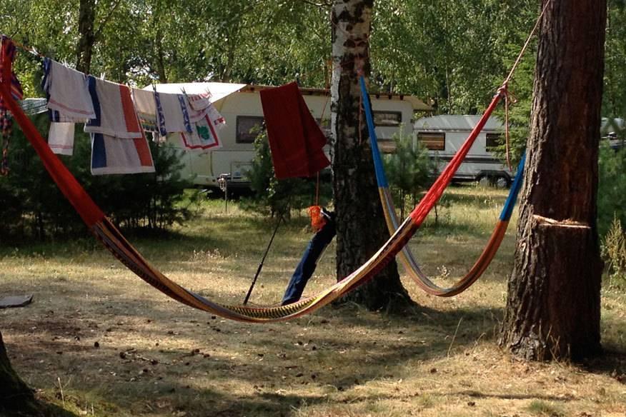 Auf den Campingplatz am Großen Wentowsee dürfen nur Erwachsene sowie Jugendliche ab 14 Jahre