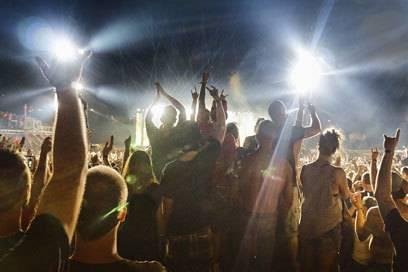 Auf einem Festival ist Nachtruhe Fehlanzeige. Gut, wenn man sich da ein wenig zurückziehen kann