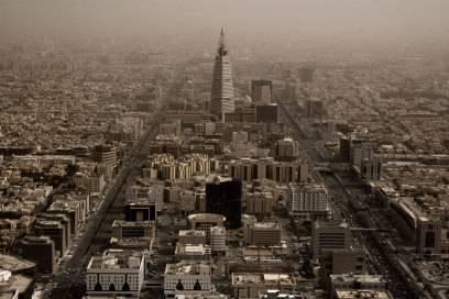 Die saudisch-arabische Hauptstadt Riad gehört zu den prominentesten Städten in den Top 10 des Luftveschmutzungs-Rankings