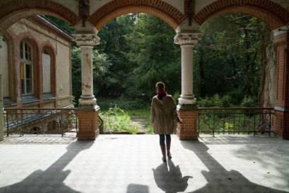 Das Gelände der Frauenheilanstalt der Beelitzer Heilstätten: Hier begann die Ruinen-Leidenschaft von Fotograf Axel Hansmann