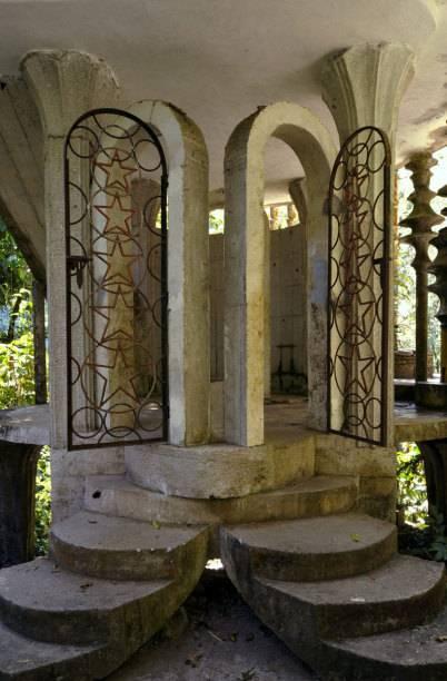 Eine der insgesamt 36 Konstruktionen in Las Pozas