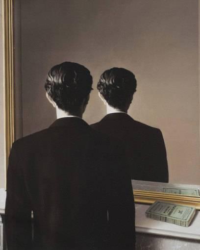 """Der Mann auf dem berühmten Gemälde """"Not to be Reproduced"""" von René Magritte ist Edward James"""