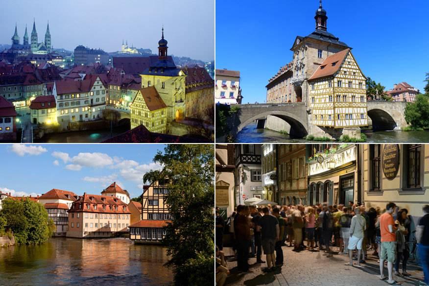 Das kleine Städtchen Bamberg ist nicht nur aufgrund seines hervorragenden Bieres in der ganzen Welt berühmt. Wer einmal in Bamberg war, ist Vor allem die Altstadt verzaubert Besucher rund um den Globus.