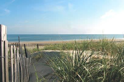 Ein bisschen wie an der Ostsee fühlt man sich am Coast Guard Beach in Massachusetts