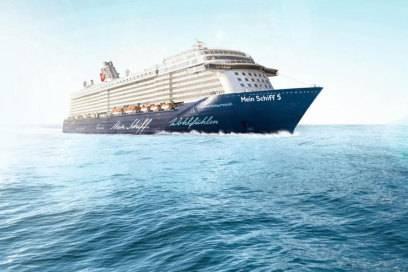 So sieht das fertige Schiff aus: Im Juli geht die Mein Schiff 5 an den Start