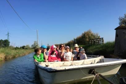 Mit dem Boot durch die Salinen von Cervia