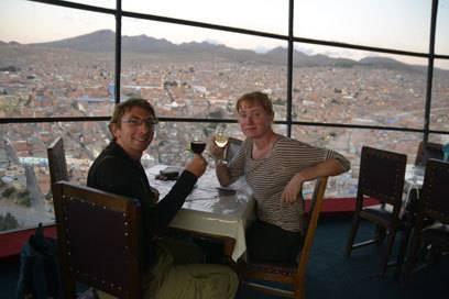 Florian und Michela beim Date in Südamerika