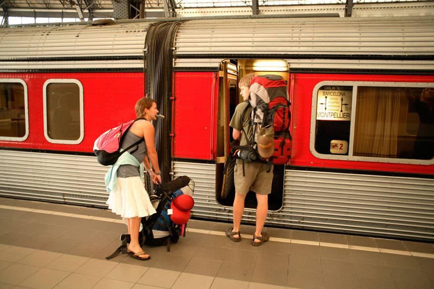Keine Lust mehr auf Frankreich? Dann ab nach Spanien. Das Schöne beim Interrailen: Man kann spontan sein