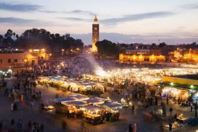 Einst kam man mit dem Interrail-Ticket bis nach Marokko und konnte zum Beispiel Marrakesch besuchen