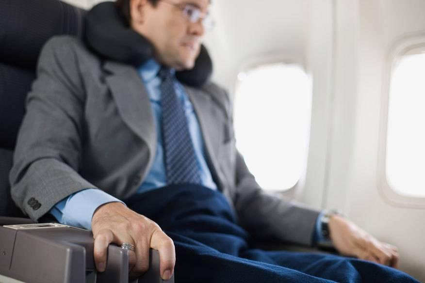 Aviophobie, so lautet der Fachbegriff für die Angst vorm Fliegen