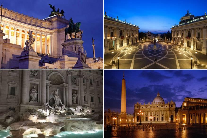 Wer Rom besuchen und die Stadt dennoch nicht mit unzähligen anderen Besuchern teilen möchte, der sollte es mal mit Night-Seeing versuchen: Sightseeing, aber nachts.
