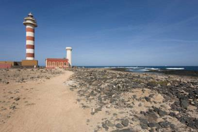 Der Leuchtturm Faro del Toston in Cotillo