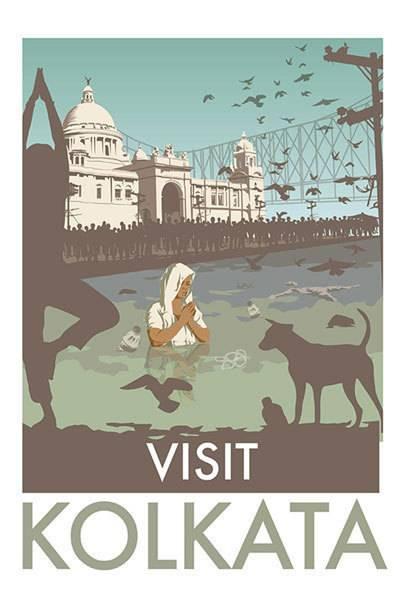 Kalkutta ist eines der spirituellen Zentren Indiens. Der heilige Fluss Ganges, an dem die Stadt liegt und in dem Gläubige baden, ist eines der schmutzigsten und giftigsten Gewässer der Welt. Allein in Kalkutta werden täglich 320 Millionen Liter Abwasser in den Gangesarm Hugli geleitet.