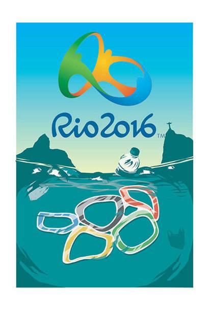 Viele Athleten, die an den Olympischen Spielen teilnehmen, haben die hohe Wasserverschmutzung in Rio beklagt.