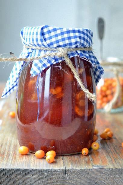 Sanddorn-Marmelade ist nicht nur vitaminreich, sondern auch schmackhaft