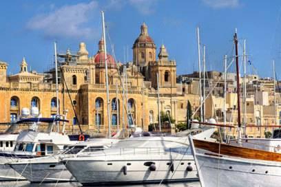 Die meisten Ausländer leben in Maltas Hauptstadt Valetta