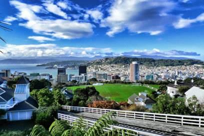 Gemütlich: Neuseelands Hauptstadt Wellington
