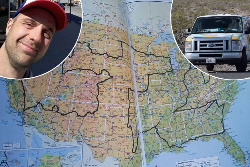 Michael Wigge ist mit einem Van in 50 Tagen durch alle Staaten der USA gereist. Was er unterwegs erlebt hat, ist witzig, skurril und teilweise nicht ganz ungefährlich...
