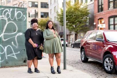 Lebensfrohe Menschen trifft man viele in Brooklyn