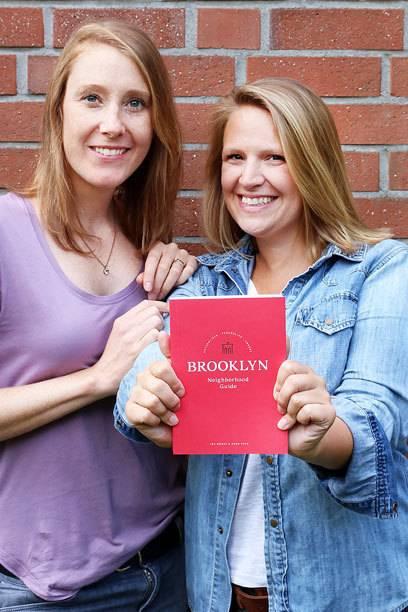 Die Autorinnen Anne Voss (li.) und Ina Bohse haben beide längere Zeit in New York gelebt