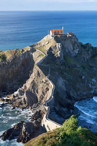 Als wäre die Kulisse bereits aufgebaut: das Kloster San Juan de Gaztelugatxe