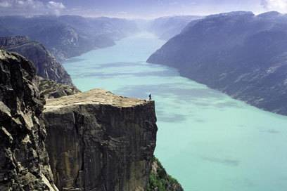 Traumziel für Naturliebhaber und Aktivurlauber in Norwegen: der Preikestolen