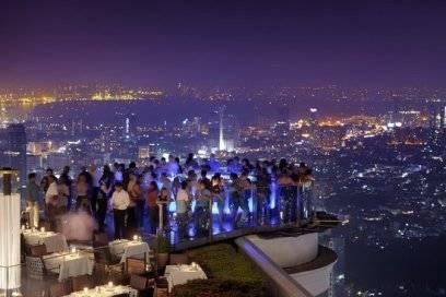 """Die Sky Bar des """"Lebua"""" Hotels in Bangkok"""