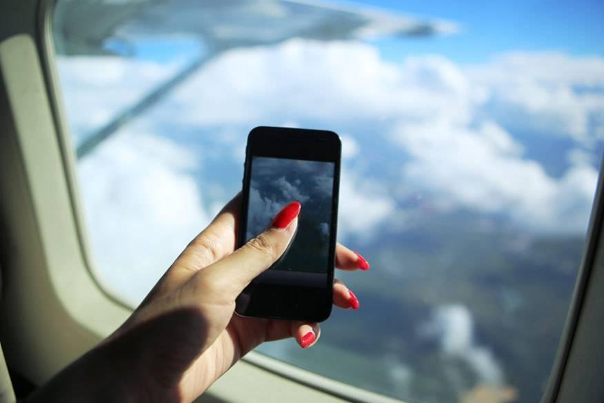 Auch das soll zukünftig bei Start und Landung erlaubt sein: fotografieren