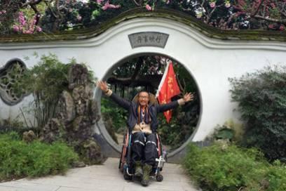 Der Abenteurer will allen zeigen, dass auch Menschen mit Behinderung ihre Träume leben können