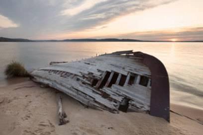 Nasses Grab: Auf dem Grund des Oberen Sees sollen mehr als 200 Schiffwracks liegen