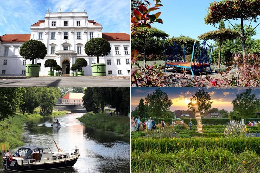 Der Schlosspark Oranienburg ist echter Geheimptipp