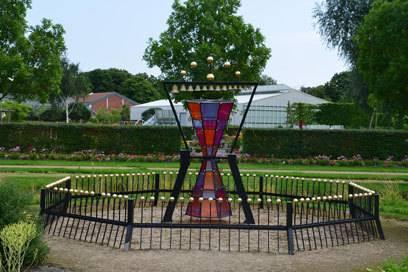 """Das Gartenzimmer """"Tempura"""" soll die vier Jahreszeiten widerspiegeln. Außerdem gibt es hier einen Baum, der nach Lebkuchen duftet."""