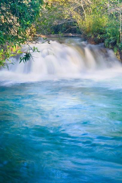 Ein kleiner Wasserfall im Parque Ecológico Rio Formoso