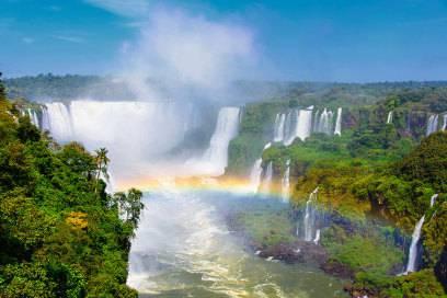 Atemberaubend: Die Wasserfälle von Foz de Iguaçu