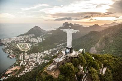 Er wacht über Rio de Janeiro: der Cristo Redentor auf dem Corcovado