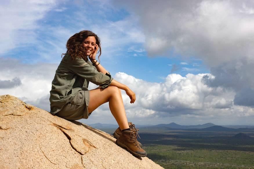Gesa Neitzel hat sich einen Traum erfüllt: Sie lässt sich zur Rangerin in Afrika ausbilden