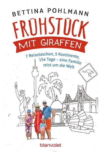 """""""Frühstück mit Giraffen"""" ist im Blanvalet Verlag erschienen und kostet 14,99 Euro"""
