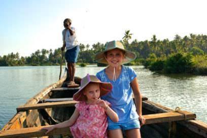 In Indien hat es Helen und Antonia sehr gut gefallen