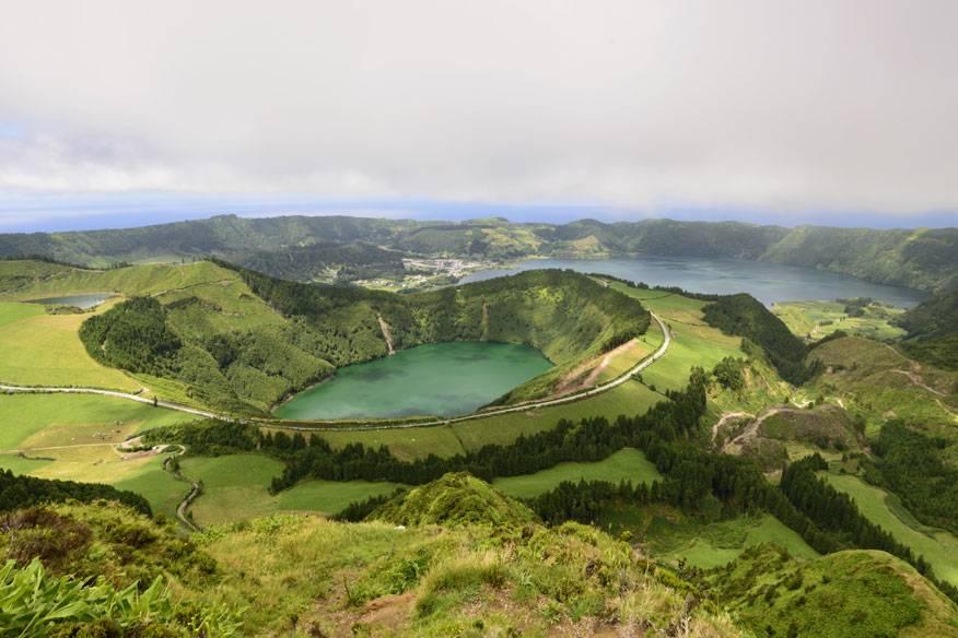 Caldeira Sete Cidades, Azoren-Insel São Miguel