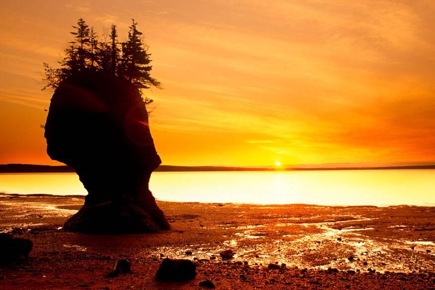 Hopewell Rocks, Kanada
