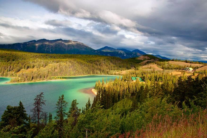 Emerald Lake, Kanada