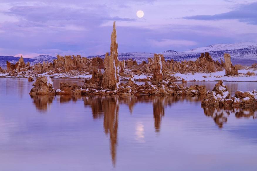 Kalktuff-Formationen im Mono Lake, Kalifornien