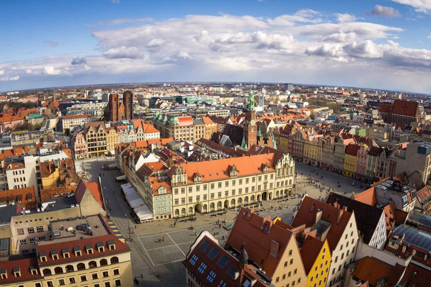 Wroclaw, auch bekannt als Breslau, war 2016 Europas Kulturhauptstadt
