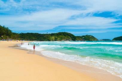 Der Nai Harn Beach in Phuket