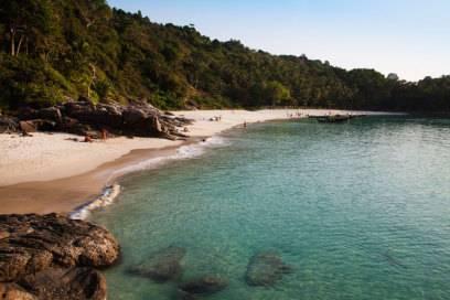 Der Freedom Beach ist nur per Boot oder nach einem Marsch durch den Dschungel zu erreichen